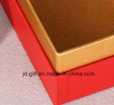 Двойные стенки подарочная упаковка бумаги с логотипом печати