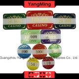 Fall-Schürhaken-Chipset des Kasino-760PCS Alluminum und mit dem Bronzieren der Spiel-Kasino-Tisch-Chips eingestellt (YM-LCTJ004)