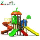 Parque Infantil exterior pré-escolar para o jardim de plástico