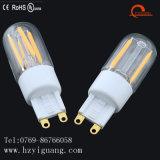 Lámpara caliente G9 del bulbo del filamento del G9 LED con las ventas directas de RoHS de la fábrica del CE RoHS