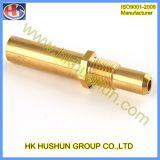 Laiton/cuivre électrique Broche de connecteur solide (SH-BS-038)
