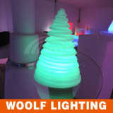 Mudança de cor ao ar livre LED Iluminado Luz Árvores