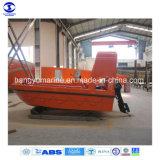 4.5 미터 FRP 선체내 엔진 구조 배/6p Solas 바다 구조 배