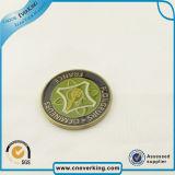 Alta calidad de imitación Logo monedas de oro para el recuerdo