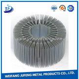 Radiador de alumínio personalizado do perfil com fabricação de metal da folha