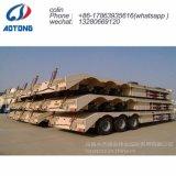 80t de carga hidráulica semi-remolques