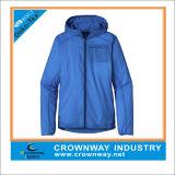 100% Polyester Léger Imperméable Sport Running Jacket
