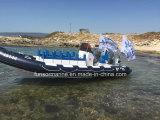 Новые пассажирские ребра на лодке из стекловолокна халл воды налога с 13 человек (ребра-700)