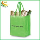 Non tissé sac d'épicerie fourre-tout sac cadeau transporter un sac de shopping avec poignée