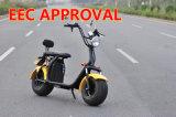 2018 de Vette Autopedden van Citycoco van de Autoped van de Band Elektrische Door de EEG goedgekeurde Elektrische