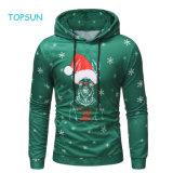 Le tout-petit garçon à la couleur verte en haut de Noël, les hommes de l'automne hiver Noël Noël vêtements de plein air à manchon long Hoodie