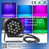 la PARITÀ impermeabile di 18PCS *10W RGBW IP65 DMX LED può illuminarsi