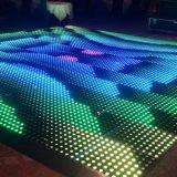 La LED DMX est plancher de danse de vidéo numérique avec carrelage