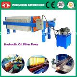 De hydraulische Machine van de Pers van de Filter van de Olie van de Kokosnoot van de Plaat en van het Frame Maagdelijke