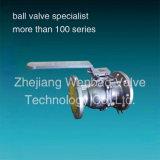Нержавеющая сталь служила фланцем шариковый клапан (DIN/JIS/GB/API)