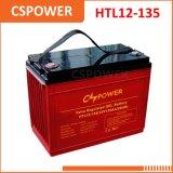 Cspower 12V 135ah larga vida de batería Gel - UPS reserva de la computadora