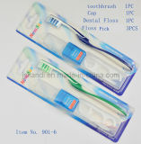 Zahnmedizinischer Installationssatz-Großverkauf mit zahnmedizinischer Glasschlacke, Glasschlacke-Auswahl u. Schutzkappe, zahnmedizinische Installationssatz-Zahnbürste