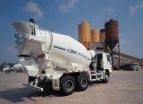 Misturador concreto de mistura concreto do caminhão de Shacman 380HP