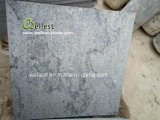 Lichtgrijs Gevlamd Gebeëindigd Blauw Kalksteen voor en Zwembad die bedekken het hoofd bieden