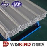 Tôle d'acier ondulée colorée de toiture