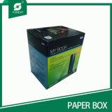 Caselle di carta ondulate di colore caldo di vendita