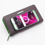 力バンクの内部(YSX02)との実質の革札入れの再充電可能な財布再充電可能なNotecase再充電可能なBurse