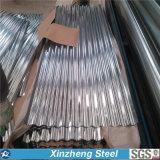 Hoja acanalada galvanizada del material para techos de la hoja del material para techos del hierro