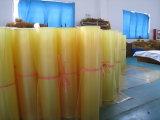 Folha do poliuretano, folha do plutônio com material 100% do poliéster