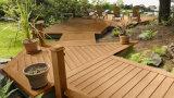 Une utilisation en extérieur WPC Flooring 100 % Recycla tablier composite
