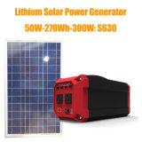 270wh 300W Портативный литиевый аккумулятор солнечной энергии с Ce / RoHS / FCC
