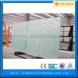 3mm-12mm vidro gravado de ácido com Marcação ce&Certificado ISO