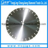 Lámina soldada con láser para corte de hormigón / asfalto