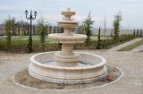 옥외 정원 Feature, Sculptured를 가진 Marble Stone Carved Water Fountain