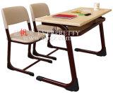 Mobília elegante do estudante do dobro do projeto para a escola