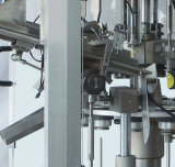 Автоматические завалка шланга и машина запечатывания