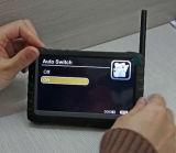 """Батарея - приведенное в действие движение экрана 5 """" LCD обнаруживает приемник 8chs 2.4/5.8g портативный беспроволочный миниый DVR"""