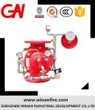 Válvula de dilúvio vendido para o sistema de alarme de incêndio