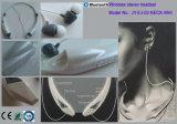 10 horas que falam a faixa da garganta projetam auriculares estereofónicos sem fio