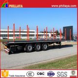 2 Camion à 3 essieux Skeleton Truck 20FT 40FT Container Semi-Trailer Chassis
