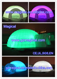 Inflatable Party Event Wedding Cube Outdoor Dome Advertising Exhibition Tent avec LED (MIC-606)