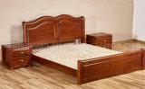 固体木のベッドの現代ダブル・ベッド(M-X2276)