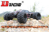 4WD Brush High Speed ​​Monster Truck com 2.4GHz Controle Remoto de Rádio