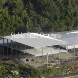 Große galvanisierte Stahlkonstruktion-Werkstatt verschüttete mit Rabatt
