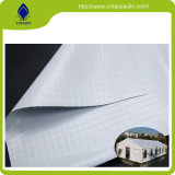 Venta caliente tejido revestido de PVC de tela tienda