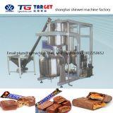 COB800 veelvoudige EiwitStaaf/de Staaf van het Graangewas/de Staaf van de Giechel/de Staaf van het Suikergoed/de Lopende band van de Chocoladereep Met Chocolade die de Lijn van de Machine hullen