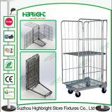 Carrinho de carrinho de mão logístico para armazenagem de carga de armazém