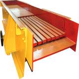 Alimentador de vibração largo do minério da areia/carvão/ouro do uso