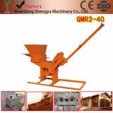 Qmr2-40 Lego взаимосвязанных стабилизации почвы бетонных блоков машины