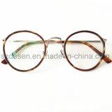Nieuwste Shell van de Schildpad van het Frame van de Stijl Antiek Rond Optisch Frame Eyewear