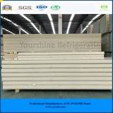 ISO、SGSは涼しい部屋の冷蔵室のフリーザーのための180mm電流を通された鋼鉄Purサンドイッチ(速合いなさい)パネルを承認した